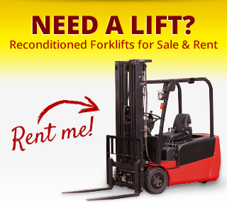 Need a Lift? Used Forklifts for Sale or Rent.